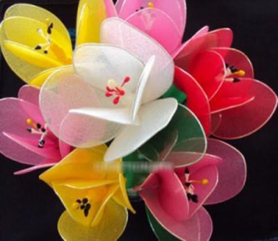Hoa lụa nghệ thuật – Hoa tulip 1