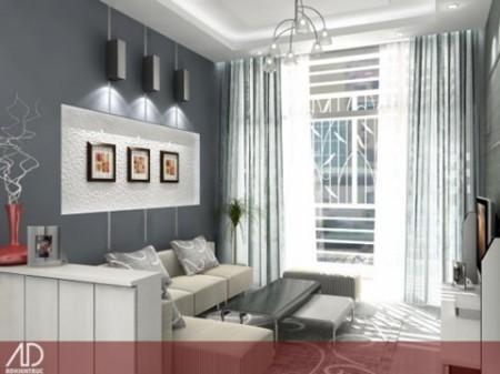 Phòng khách chung cư và những cách biến hóa 1