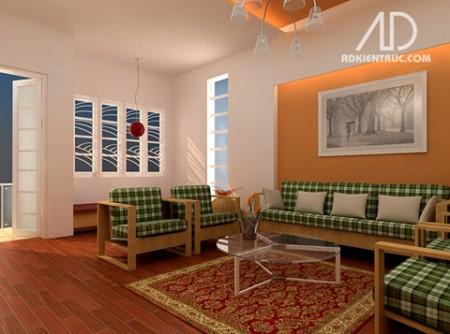 Phòng khách chung cư và những cách biến hóa 3
