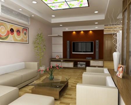 Phòng khách chung cư và những cách biến hóa 5