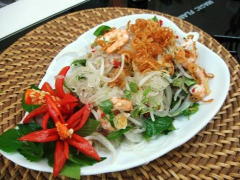 Nộm miến Thái Lan 1