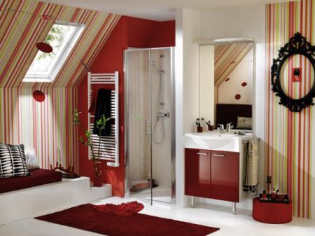 Hãy chọn gam màu tươi sáng cho phòng tắm của gia đình