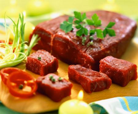 Thịt bò rất giàu chất sắt