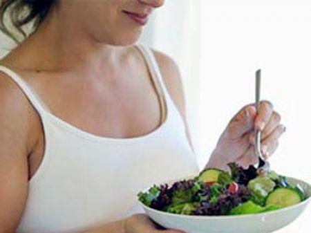Hãy lưu ý tới chế độ ăn uống trong thai kỳ