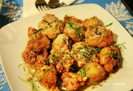 Món gà rang muối rất thơm, giòn, mềm, bổ dưỡng