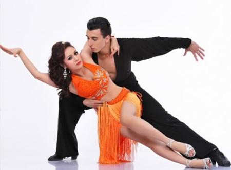 Thanh Thúy và vũ công Vachev