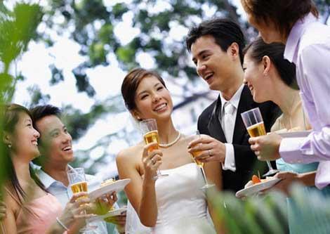 Cuộc đời sang trang sau ngày cưới