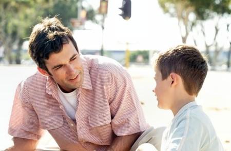 bố và con trai