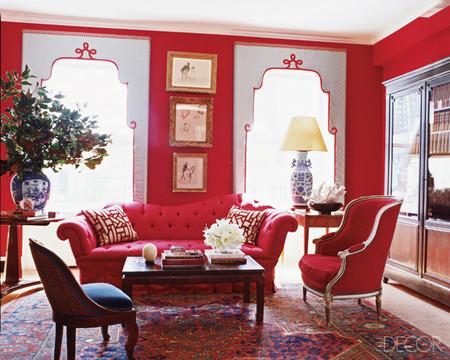 Nên định hình màu sắc đồ đạc trước khi chọn sơn tường