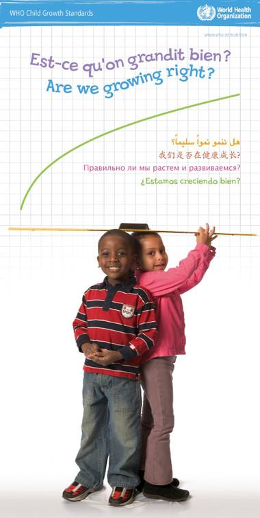 Tiêu chuẩn chiều cao và cân nặng của trẻ theo tiêu chuẩn của WHO 1