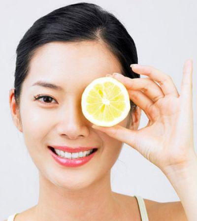 Chanh có tác dụng giúp bạn làm đẹp da, trị mụn