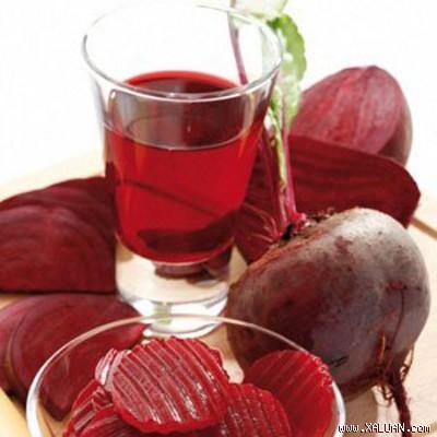 Nước ép củ cải đường ngăn ngừa thiếu máu, giúp giảm cân