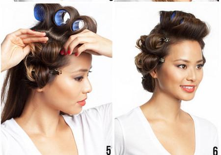 Vài bước đơn giản cho mái tóc bồng sóng 3