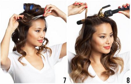 Vài bước đơn giản cho mái tóc bồng sóng 4