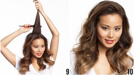 Vài bước đơn giản cho mái tóc bồng sóng 5