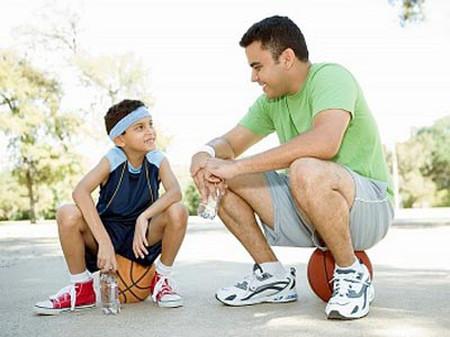 Khi trẻ gặp thất bại, sự động viên của bạn là rất cần thiết