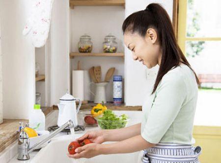 Hãy cẩn thận trong việc sơ chế nguyên liệu để giảm thiểu lượng axit
