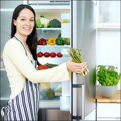Trước khi bảo quản thực phẩm trong tủ lạnh thì cần thay túi và giấy gói