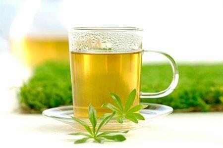 Nước trà có thẻ được dùng trong các món mặn ở cuối bữa ăn