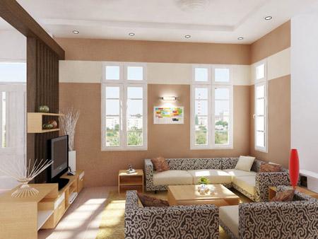 Không gian phòng khách và thư giãn.