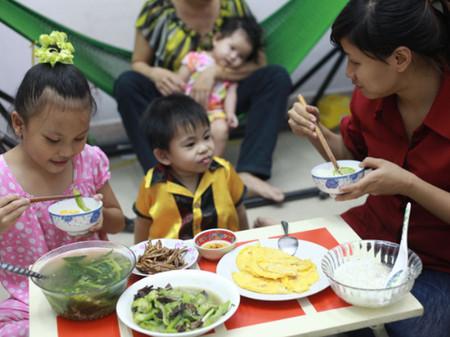 Dinh dưỡng đúng sẽ tốt cho sức khỏe của trẻ.
