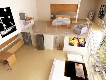 Mở rộng không gian sống bằng gác lửng 3