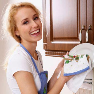 Nước ép chanh rất tốt trong việc lau chùi nhà bếp