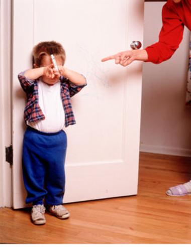 Có thể trẻ sẽ không vì những hình phạt mà ngoan hơn