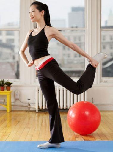 Thể dục thẩm mỹ là cách nhiều chị em lựa chọn để giảm cân