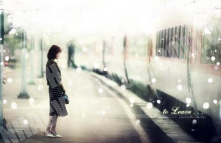 ...điều em nhận được chỉ là khoảng không đơn độc đối diện với lòng mình.