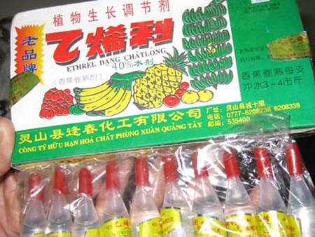 Các loại thuốc thúc chín được sử dụng khá phổ biến