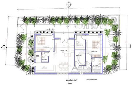 Thiết kế biệt thự một tầng ở quê 2
