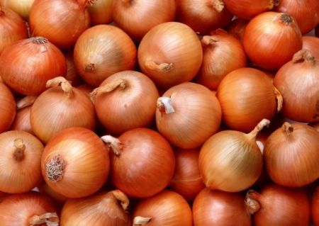 Hành tây cũng có tác dụng kích thích collagen để làm đầy dần vùng da bị khuyết.