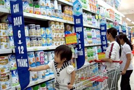 Ngay đầu năm, sữa đã nhanh chóng thiết lập mặt bằng giá mới.