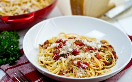 Mì Ý sốt cà chua  1
