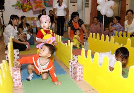 Được đến trường sớm, trẻ phát triển thuận lợi hơn