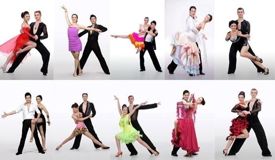 10 cặp đôi Bước nhảy hoàn vũ 2012