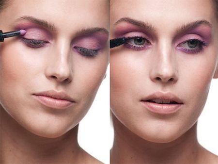 Nguyên tắc khi đánh phấn mắt là phải tạo ra sự chuyển tiếp về màu sắc và mỗi dáng mắt có một kiểu make-up khác nhau.
