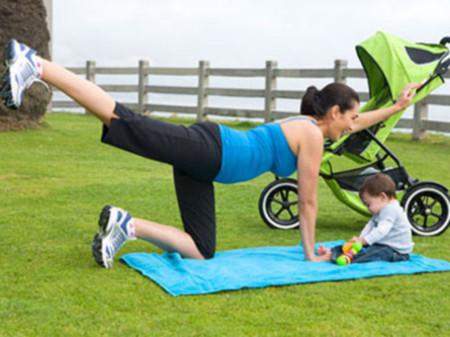 Bạn sẽ có thể lấy lại vóc dáng sau khi sinh khi tìm được đúng phương pháp tập luyện.