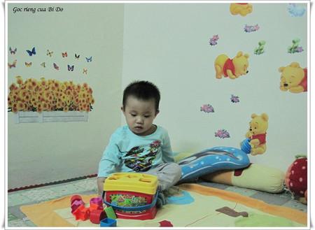 Để bé chơi một mình ngay từ nhỏ cũng là một cách để rèn luyện tính tự lập