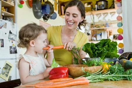 Những thức ăn phụ cũng rất cần thiết và hữu dụng cho bé