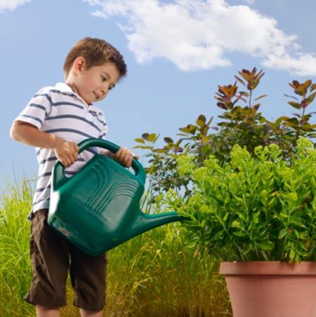 Những công việc nhỏ trong gia đình đều có ý nghĩa đối với trẻ.