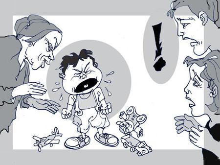 Cha mẹ đang vô tình làm con hư nhanh hơn khi luôn bênh con bất kể đúng sai, làm những điều xấu trước mặt con