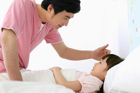 Được ở bên con, hát ru cho con ngủ là niềm hạnh phúc của bố