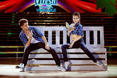 Bước nhảy hoàn vũ 2012 tuần thứ 7 chia tay diễn viên Vân Trang