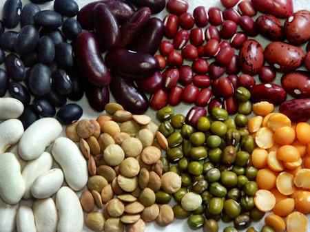Các loại đậu giúp cơ thể bổ sung một lượng sắt nhất định.
