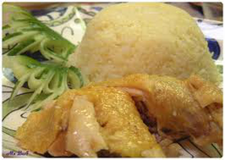 Cơm gà Hải Nam, món ăn ngon cho gia đình bạn vào dịp cuối tuần.