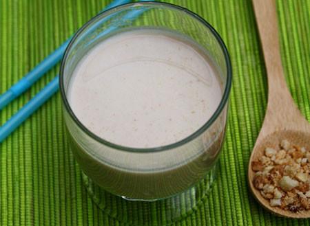 Mát bổ thơm ngon món sữa đậu phộng.