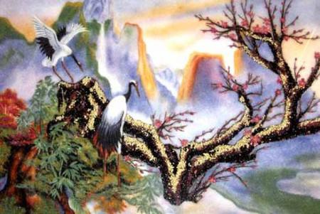 Ý nghĩa phong thủy của loài hạc 3