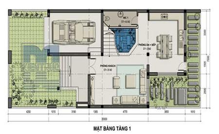 Thiết kế biệt thự nhà vườn 150 m2 cho vùng ngoại thành 1